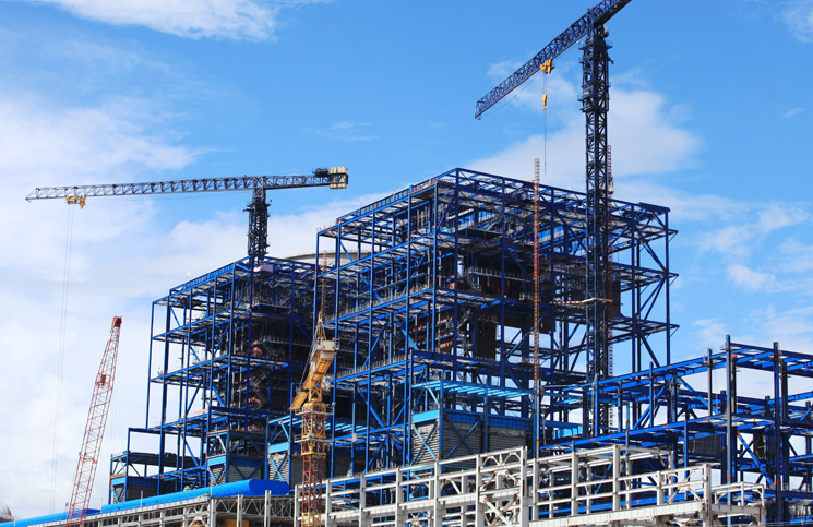 Construction blue